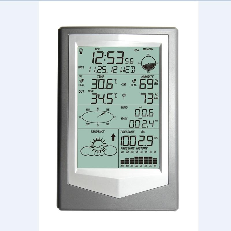 Vezeték nélküli meteorológiai állomás PC Link-rel Háztartási - Mérőműszerek - Fénykép 3