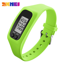 SKMEI 1207 Women Men Digital Wristwatches Pedometer Calorie Watch Fashion Silicone Strap Clock Relogio Masculino Sports Watches