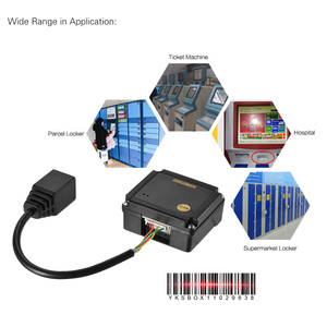 Image 5 - جزءا لا يتجزأ من 1D الباركود الماسح الضوئي قارئ وحدة CCD الباركود الماسح الضوئي وحدة المحرك مع RS232 واجهة USB يدعم 1D بار رموز