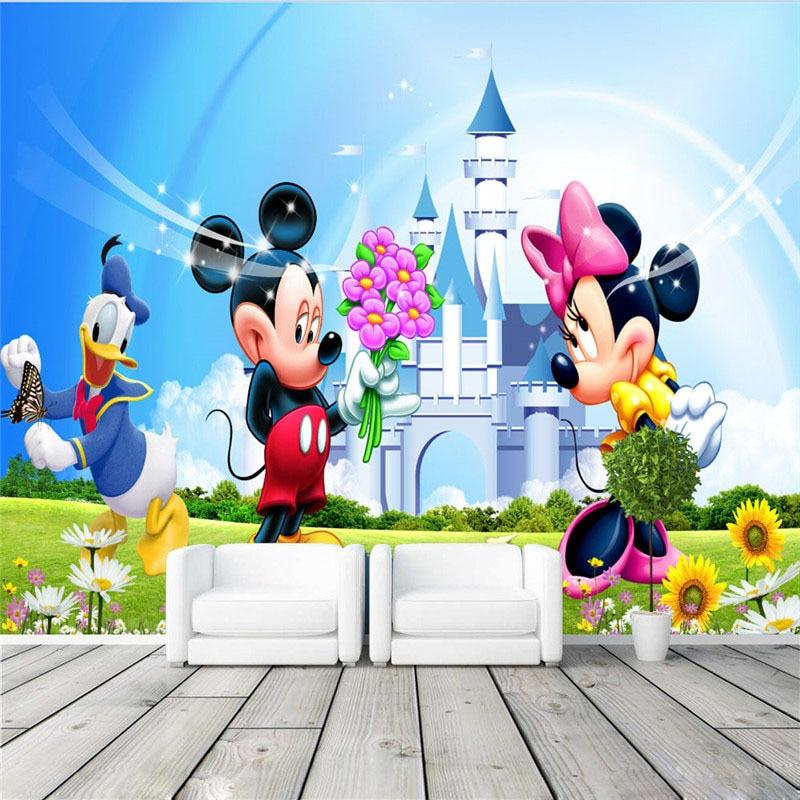 Lovely Mickey  Minnie Wallpaper Cartoon Photo wallpaper
