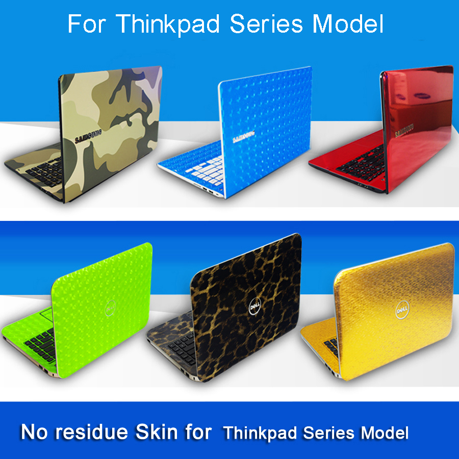Laptop Sticker Skins For Lenovo Thinkpad Series Model Personality Free Cutting Pure Color Notebook Decal Vinyl Case Stickers