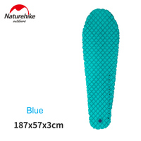 Naturehike Ultralight Outdoor Sleeping Pad Tent Air Mat Moisture Proof Mattress For Mummy Sleeping Bag NH17T023
