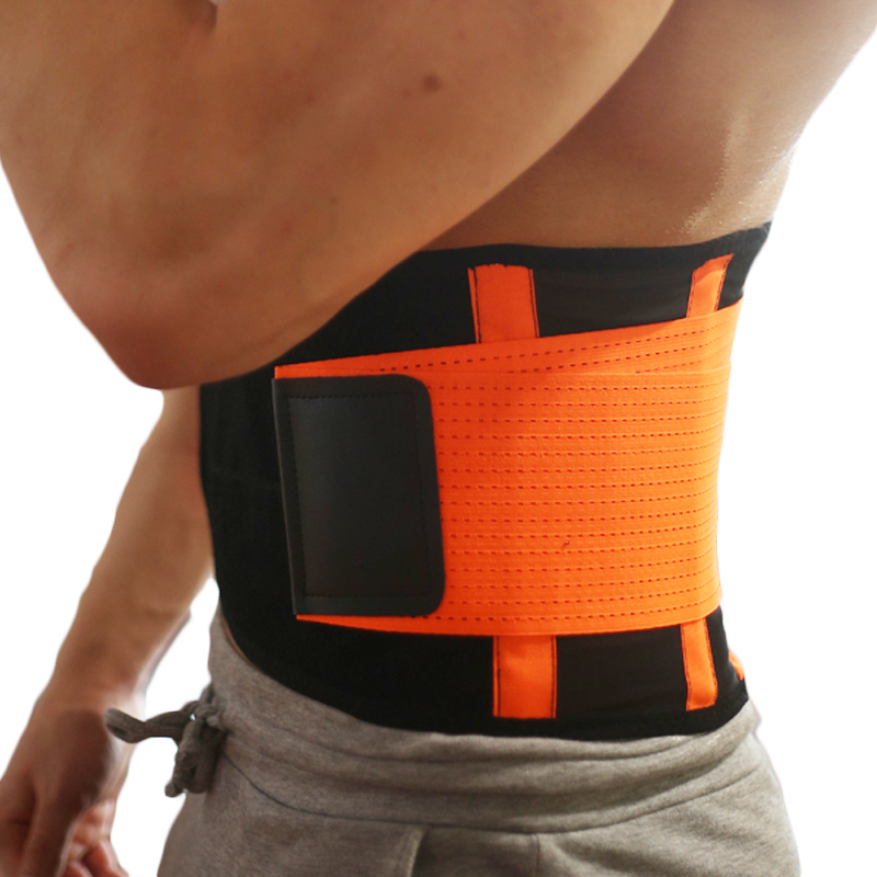 Nylon & Neoprene Waist <font><b>Belt</b></font> Ajustable Waist Support Brace Fitness Gym Lumbar Brace Men And Women Slimming <font><b>Belts</b></font> S/M/L/XL/<font><b>XXL</b></font> image