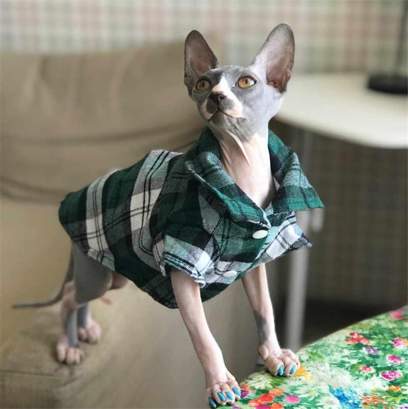 Pet Puppy Dog Quần Áo Mùa Hè Chó Kẻ Sọc Áo Sơ Mi Áo Khoác Áo Khoác Cat Lưới Trang Phục cho Chó Vừa Nhỏ Yorkie Chihuahua Quần Áo