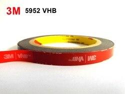3 m VHB 5952 Black Heavy Duty Montage Tape Dubbelzijdig Adhesive Acryl Foam Tape (25mm x 33 meters)