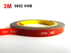 3M VHB 5952 Black Heavy Duty Mounting Tape Double Sided Adhesive Acrylic Foam Tape (25mm x33Meters)