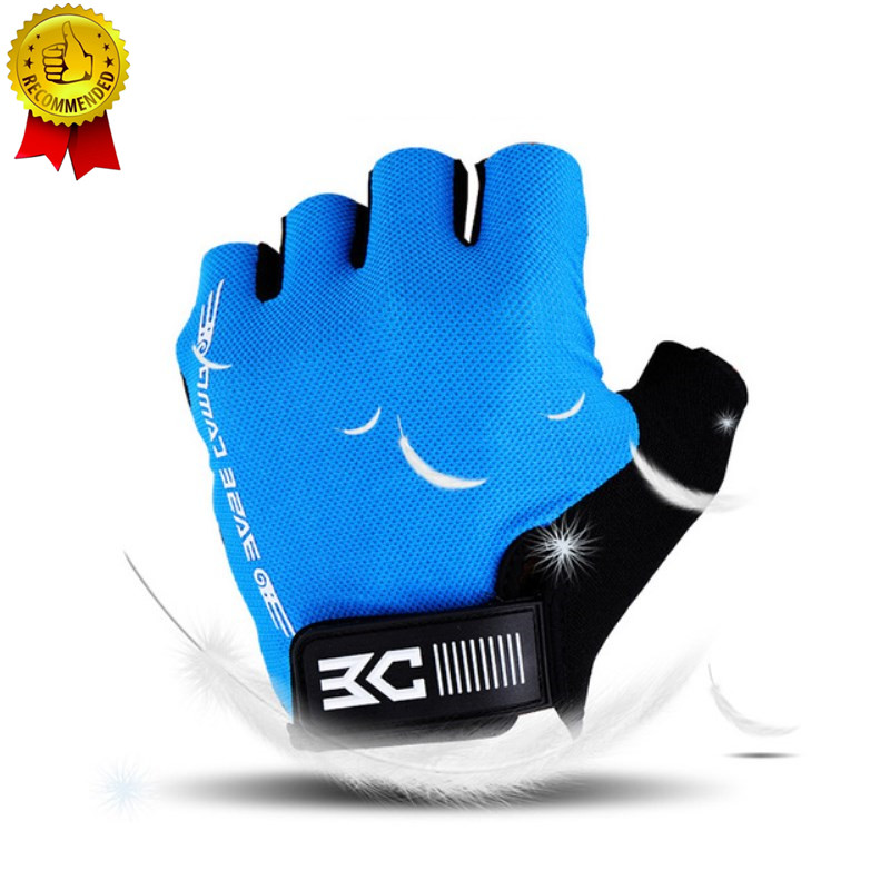 Summer Half Finger Cycling Gloves Breathable Shockproof Non-slip Gloves For Bicycle Guantes Ciclismo Men Women Bike Glove cycling gloves half finger men women breathable sports bicycle bike motorcycle gloves anti slip guantes ciclismo m l xl