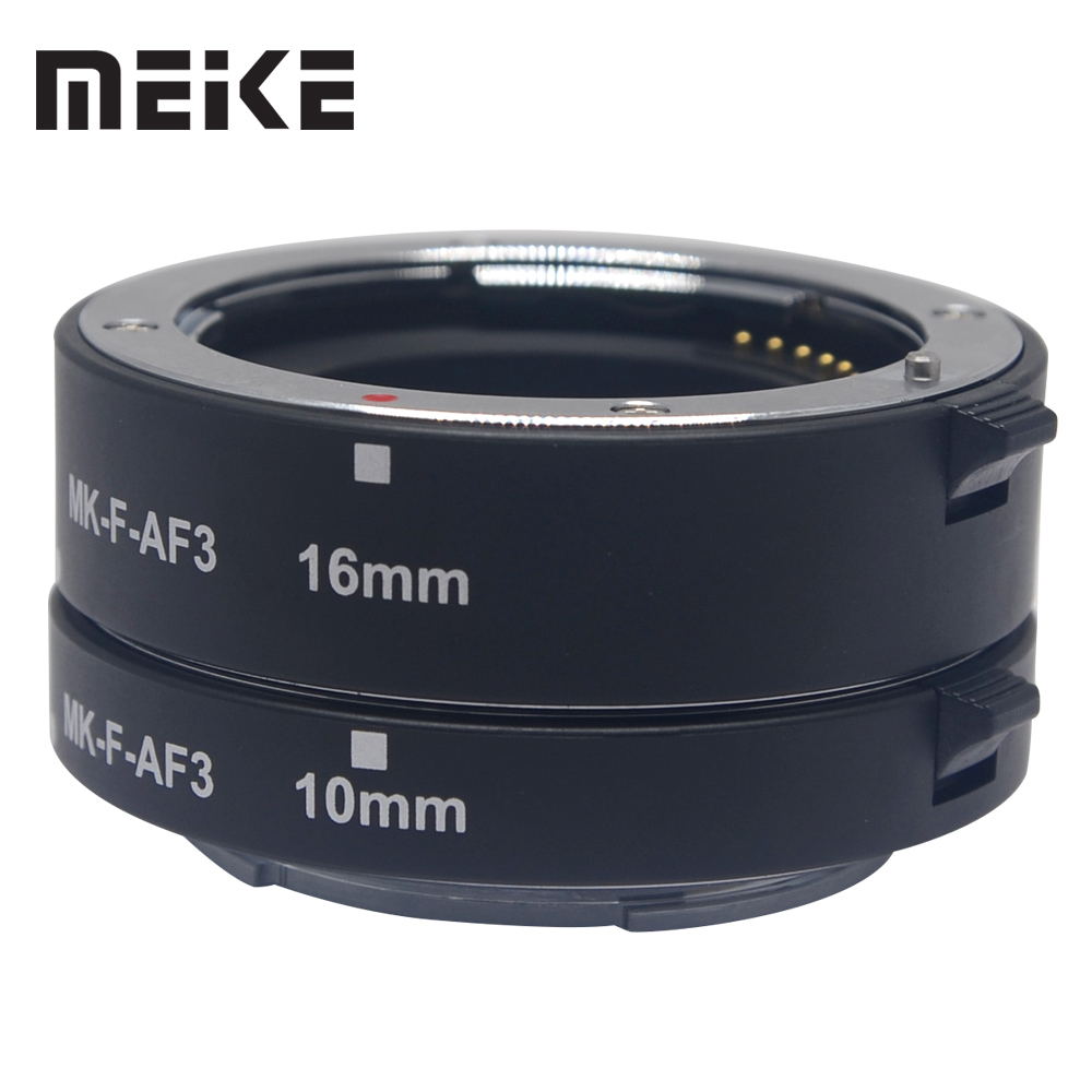 Mcoplus MK F AF3 Macro Extension Tube Metal Auto Focus AF Adapter for FUJIFILM XPro2 XT1