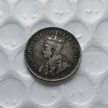 1936 with raised dot Canada 10 Cents Half Dollar COPY(China)