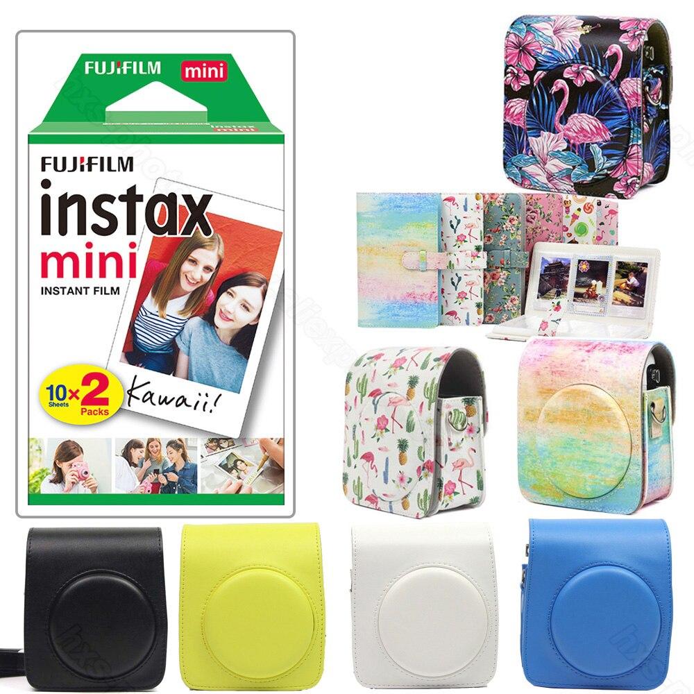 20 hojas Fujifilm Instax Mini 70 película instantánea blanco accesorios están disponibles-foto álbum caja de la cámara para Instax Mini 70