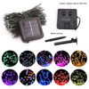 22M 200LED Solar Powered Fairy Lights Christmas Street Garland Led String Strip Light Outdoor Waterproof for Garden Wedding Lamp review