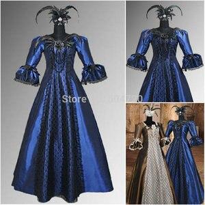 Freeshipping!R-395 Custom Made 18 Century Civil War Southern Belle Ball GownVictorian dresses/Renaissance dress