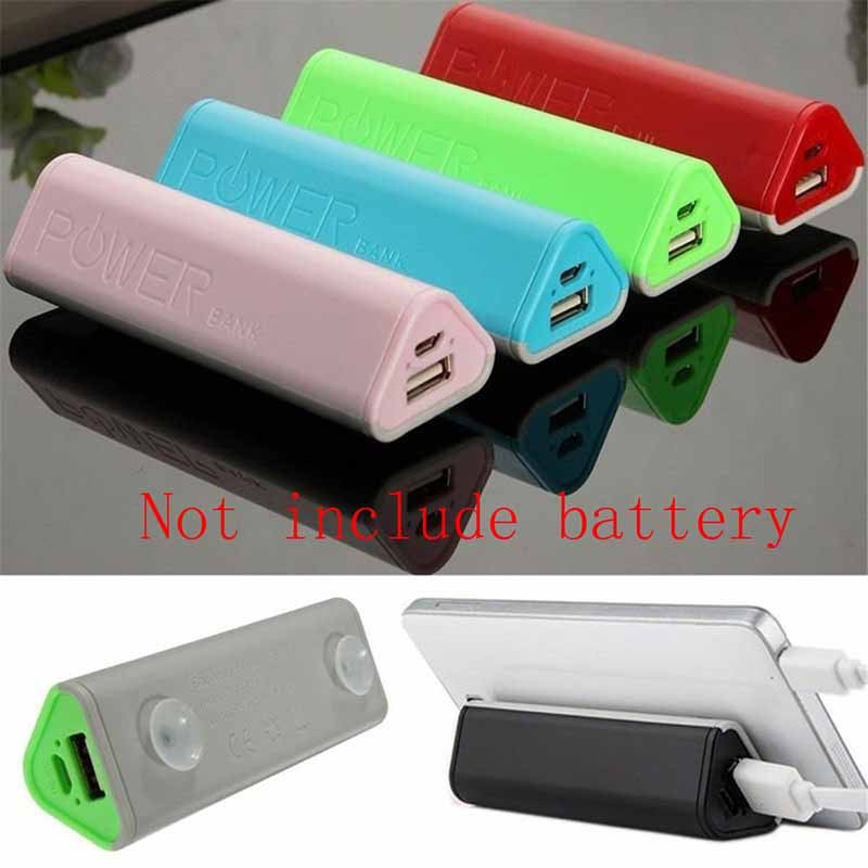 5000mah Power Bank 18650 DIY KIT Battery Charger Powerbank Box 18650 Case Mobile USB Charger For Phone Power Bank (No Battery)