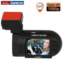 Conkim Car Camera Mini 0801S Upgrade 0801 1080P Full HD dashcam H.264 Dash Camera GPS Logger G-sensor AIT8328P OV2710 Car DVRs