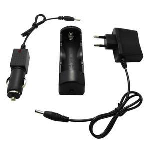 Image 3 - Eu/Us Plug Dc 4.2V 500mA Lithium Batterij Oplader 18650 Polymeer Batterij 100 240V Lader voor Koplamp Met Wire Lead