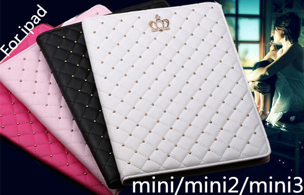 case cover for Apple iPad mini mini2 mini 3 With Stand Flip Tablet Cover Protective Tablet Bags  Content: