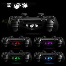 Skull Boss 30 Pcs Light Bar Cover Sticker Skin For PS4 Slim Pro Controller