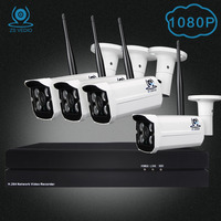 ZSVIDEO Surveillance System Security Camera 4CH 8CH Outdoor Home Motion System Cameras Record Night Vision NVR
