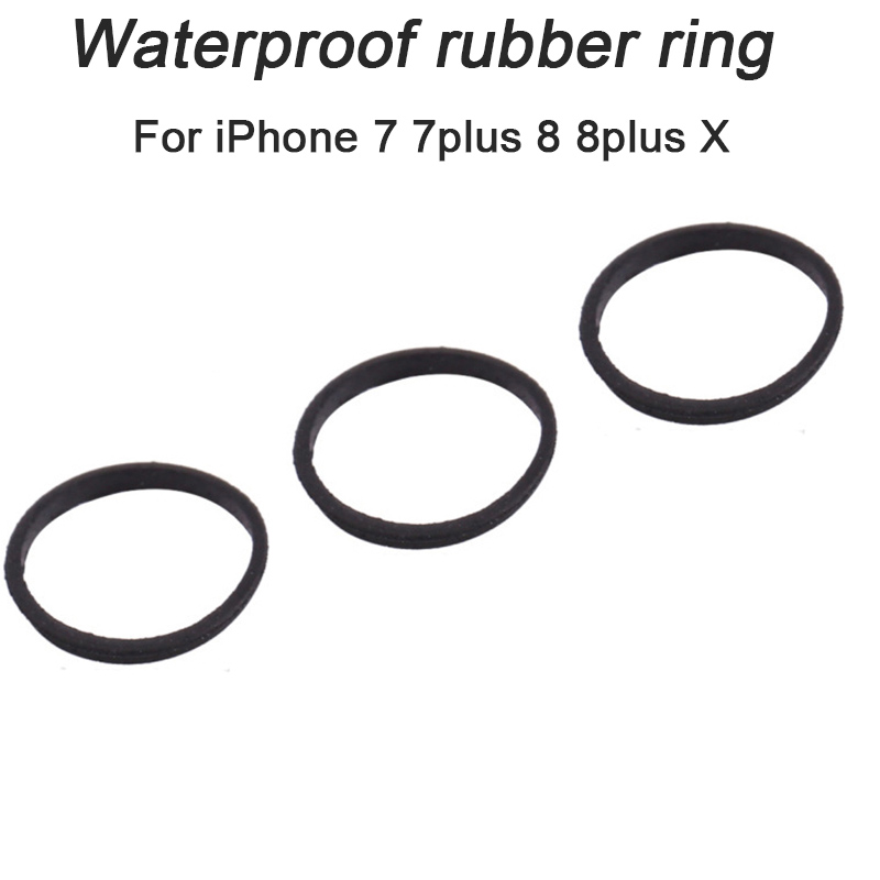HOUSTMUST 2pcs Waterproof Rubber Ring Seal Sets For Sim Card Tray Slot Holder Replacement Parts For IPhone 7 7 Plus 8 8 Plus X