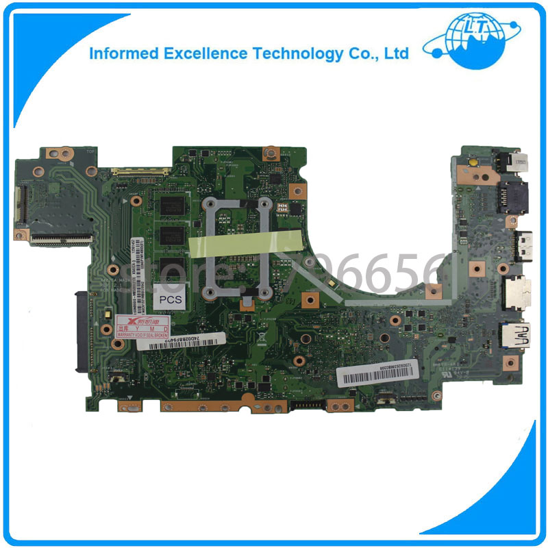 For ASUS X402CA Laptop Motherboard With I5 CPU REV 2 1 Mainboard 100 Tested Free Shipping