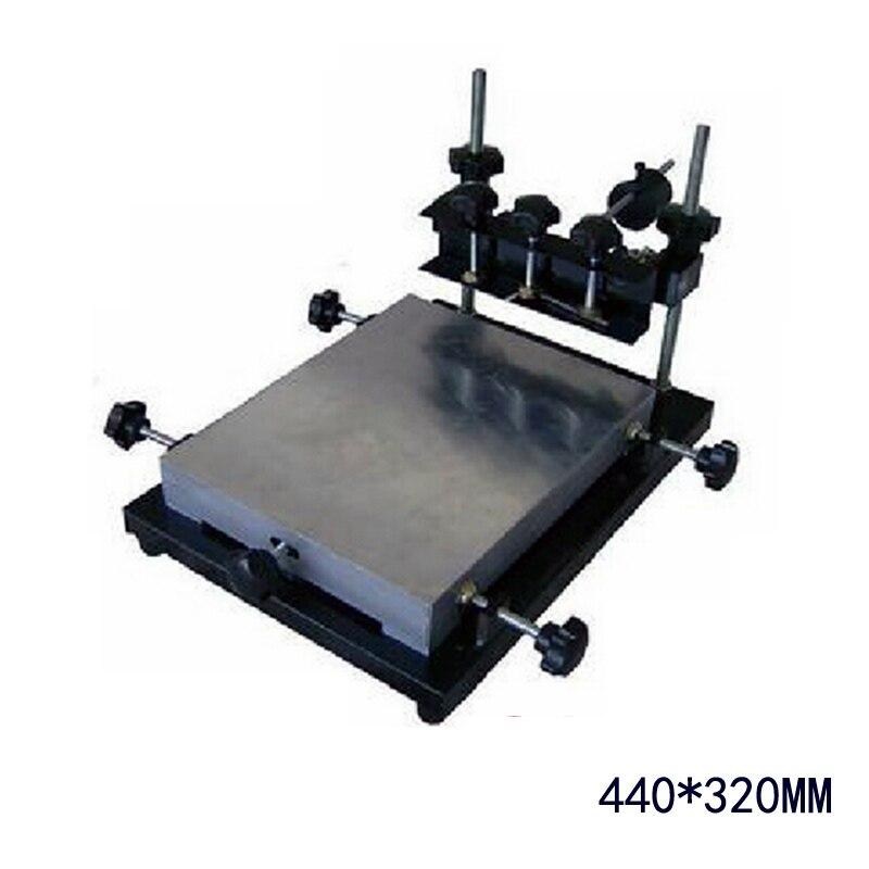 Здесь можно купить   Authorized PUHUI 440x320mm Middle Size Manual Stencil Printer Machine, Silk Printing Machine Строительство и Недвижимость