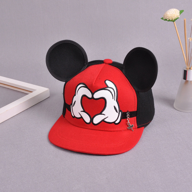 55f641e526a Cartoon Cute Baseball Cap Big Ear Snapback Caps For Children Kids Hip-hop  Hat Casual