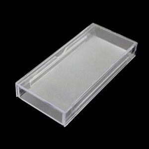 Image 4 - 50 pçs/lote Cílios Acrílico Puxar tipo De Armazenamento Caso Caixa De Embalagem para a caixa de Cílios Transparente Tampa Magnética Bandeja Claro de Alta Qualidade