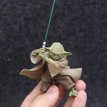 Mestre YODA Guerra estrela Personagens com Figura de Ação Espada Brinquedos