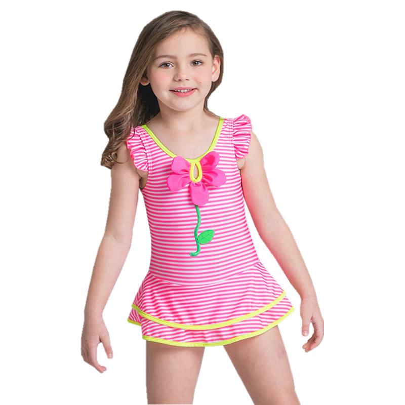 GI FOREVER New Cute Floral Children's Swimwear One Piece ...