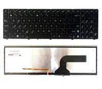 Nowy UK Klawiatury Laptopa Do ASUS G53 G72 G73 G51 K52 K53 G60 X73 Podświetlany/Podświetlenie