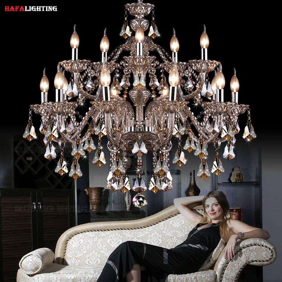 Modern crystal light chandelier lighting top k9 crystal chandeliers bedroom lamp dining room for Crystal chandeliers for bedrooms