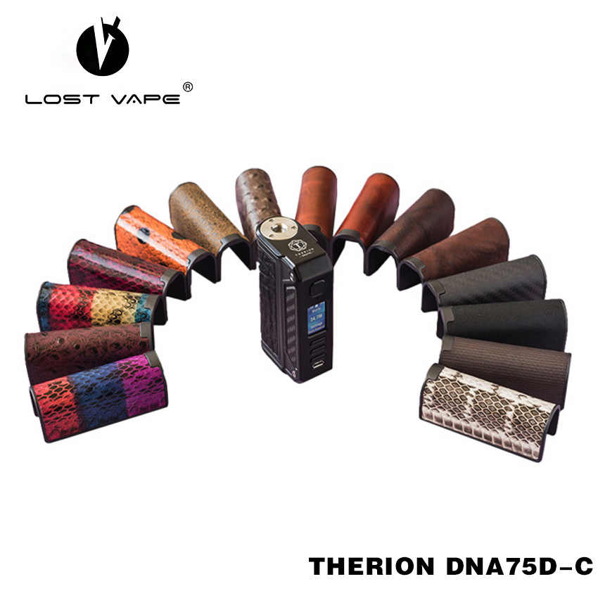 100% Original Lost Vape Therion DNA75D-C Mod 75W Power Dual 18650 batteries color TFT screen Evolv DNA75 Chip for e-cig mod