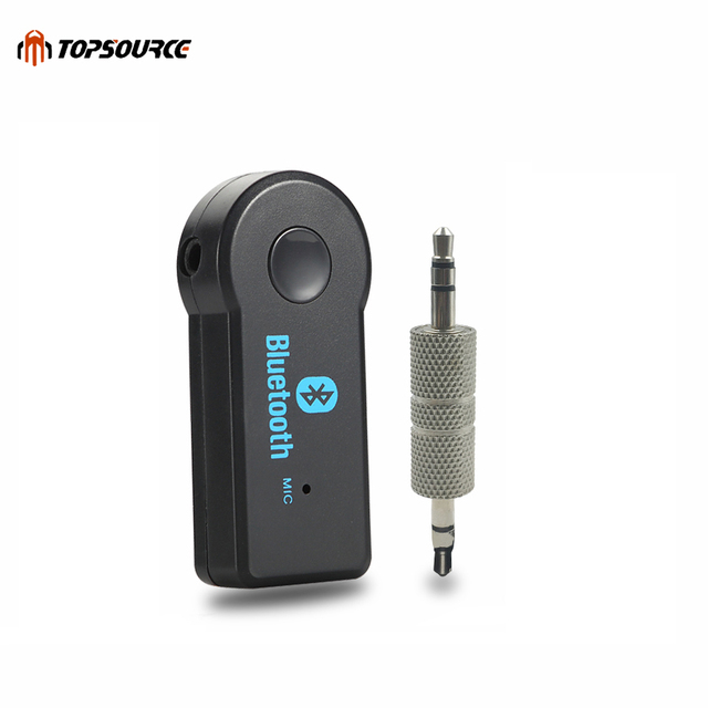 TOPSOURCE 3.5MM Jack aux bluetooth  Audio Music Receiver Car Kit Wireless Speaker Headphone Adapter Hands Free For Xiaomi iPhone