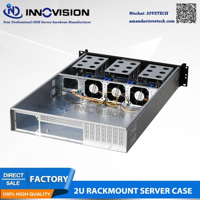 Elegancka obudowa serwerowa do montażu w szafie rack 2U RC2650L L = - Komputery przemysłowe i akcesoria - Zdjęcie 2