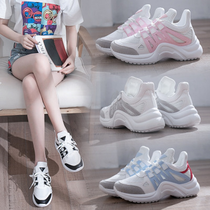 6b1d33ee5133 Couleur 4 Casual Chaussures 1 3 De Harajuku Correspondant Automne 2 Sauvage  Nouvelles Course 5 qt8w784x