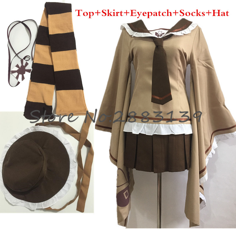 New Senbonzakura Vocaloid Kagamine Rin Cosplay Costume Full Set Uniform For Adult Women Plus Size Garment