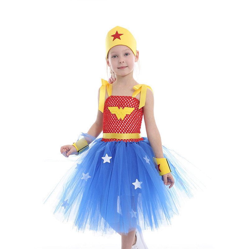 Aliexpresscom  Buy Latest Girls Wonder Woman Tutu Dress -4122