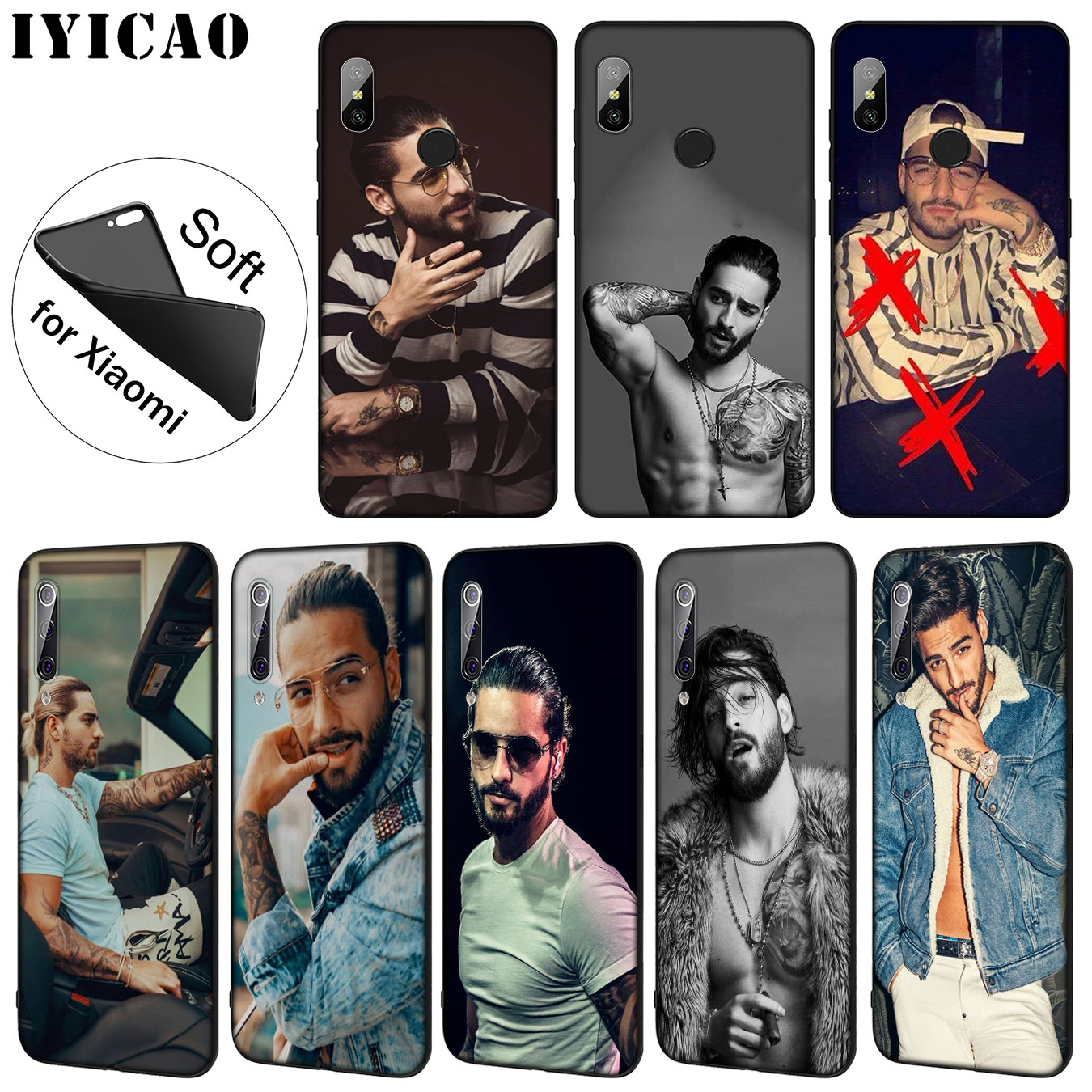 Fitted Cases Cellphones & Telecommunications Knowledgeable Iyicao Maluma Soft Silicone Phone Case For Xiaomi Mi 9 8 A2 Lite A1 6 6x Pocophone F1 Max 3 Mi9 Mi8 Mia2 Mild And Mellow