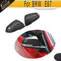 Carbon Fiber Side Car Mirror Cover Caps For BMW 1 Series F20 E87 3 Series F30 F35 hatchback seden 2011 UP Not wagon