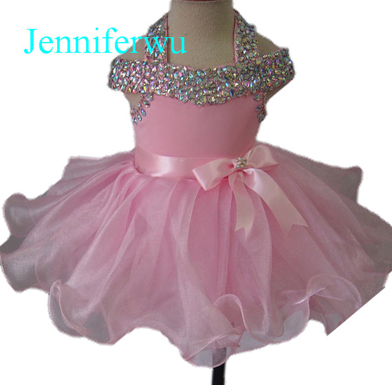glittering stone beaded baby girl pageant dress 1T-6T G081F интеркулер kang wild 1 6t 1 6t 53039700174