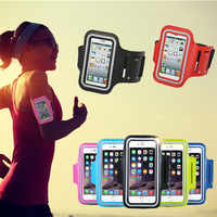 Sport Running Arm Bag Gym Telephone Funda For Micromax e313 q415 a79 a190 Case Cover Waterproof Mobile jogging Workout Arm Band