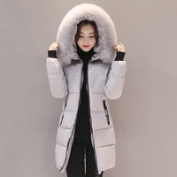 Women Winter Jacket Cotton Padded Hooded Warm Thicken Women Coat Female Parka Mujer Outwear 2018 High Quality Casaco Feminina