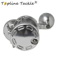 TopLine Tackle TA100 TA200 TA300 TA500 trolling reel gear ratio 4.9:1  jigging reels 25KG-35KG drag force free shipping