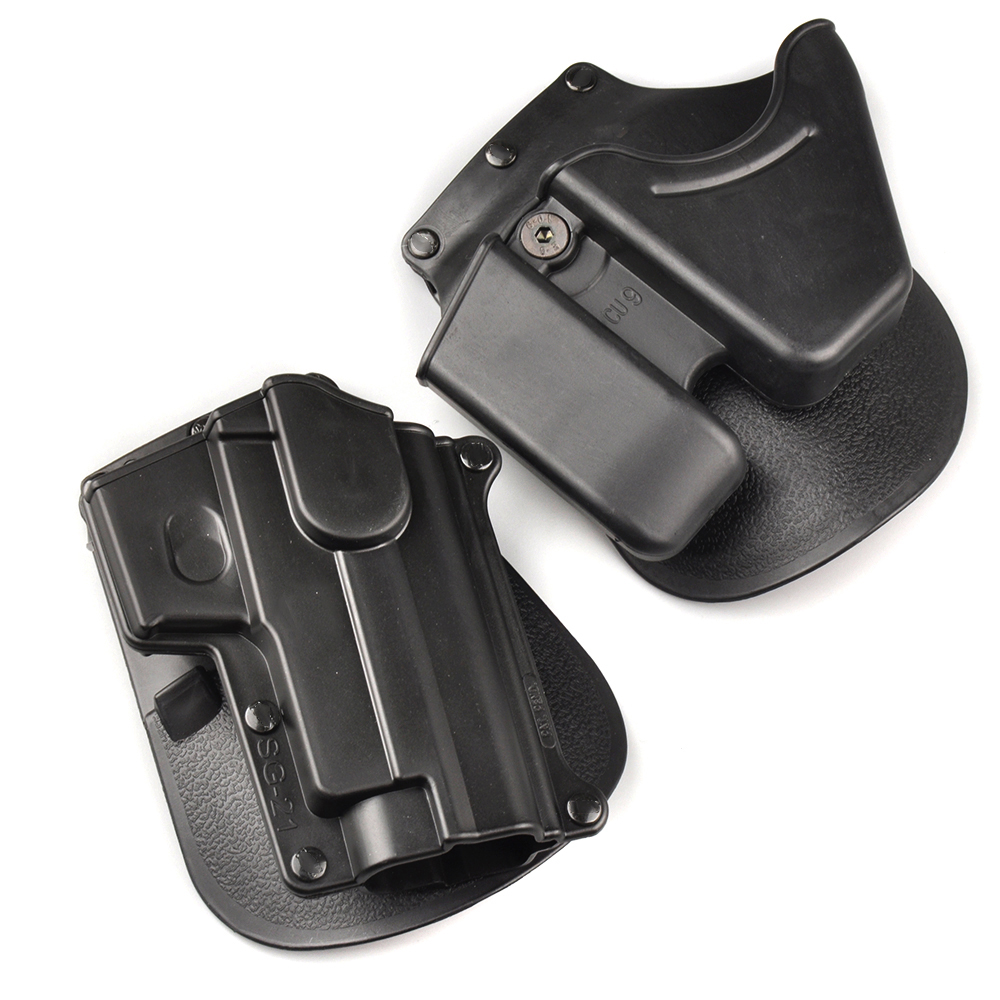 Tactical CU9 Black Handcuff Holster Pistol Holster Double Stack - Jacht - Foto 2