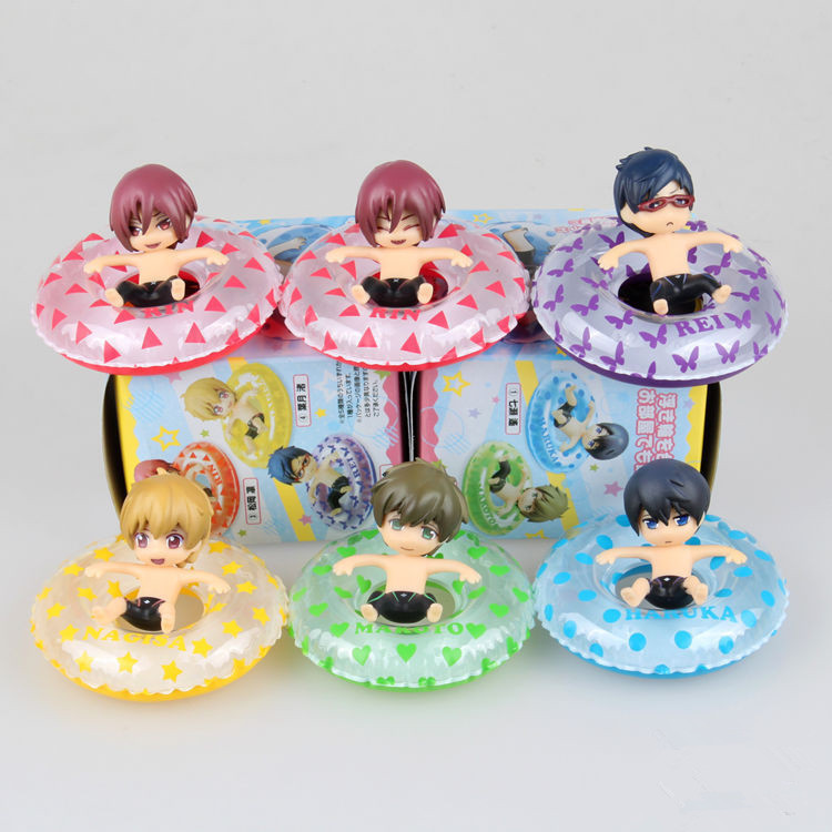 Hot 6pcs Set Anime Free Haruka Nanase Makoto Tachibana Nagisa Hazuki Rin Matsuoka Rei Ryugazaki Pvc Action Figure Toy Toy Story School Supplies Figure Jewelrytoy Kitty Aliexpress Check out our funko pop selection for the very best in unique or custom, handmade pieces from our art & collectibles shops. haruka nanase makoto tachibana nagisa