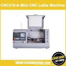 CNC210-A мини токарный станок с ЧПУ/1200 Вт Серводвигатель токарный станок/после 990TDB токарный станок с ЧПУ