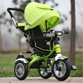 2017 Genuine New Full Shed Baby Tricycle Trolley Baby Child Stroller Baby Carriage Bike Bicycle For 6 Month--6 Years Old