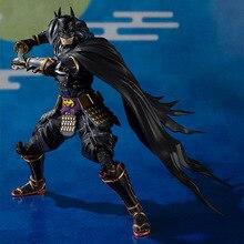 Play arts kai Collectible Batman Anime toys Ninja Batman Joints Movable Marvel Figure