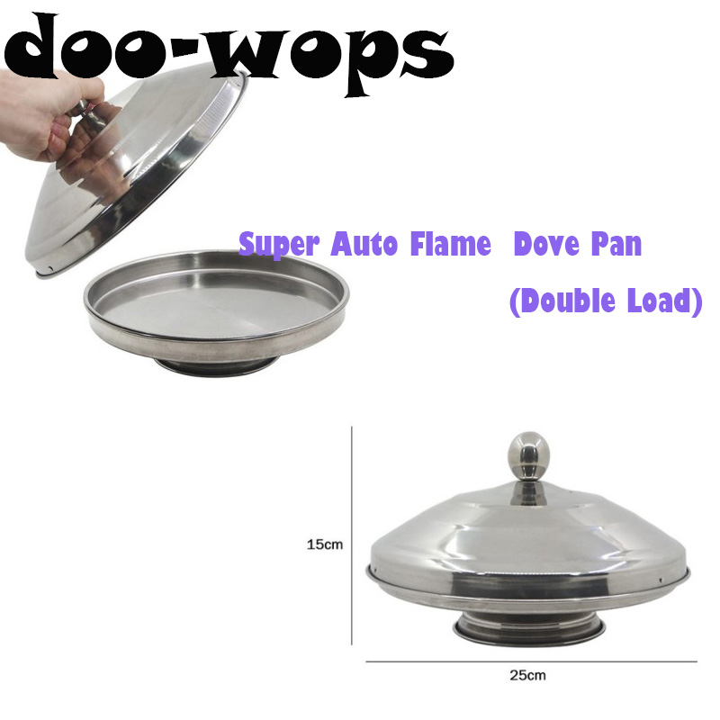 цена на Super Auto Flame Dove Pan(Double Load) Magic Trick Object Appearing From Pan Magia Stage Illusion Gimmick Accessories Props Fun