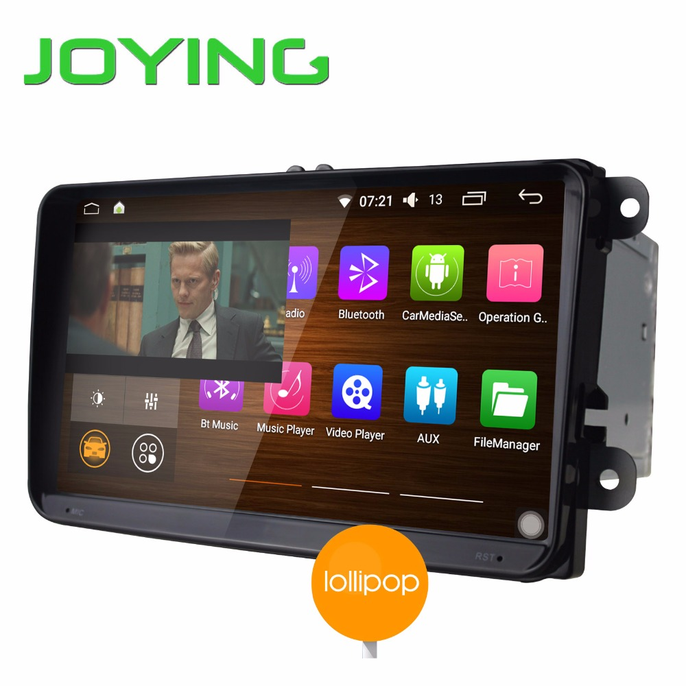 Joying New Car Multimedia Player For VW Android 5.1 Intel SoFIA 3GR Quad Core Car Audio Stereo GPS Navigation Double 2Din HD